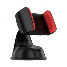 Suporte Para Celular Universal Ventosa Pinça Vermelha-JAVICK