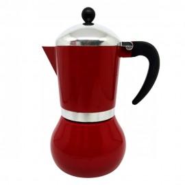 Cafeteira Italiana Alumínio Esmaltada Vermelho 300Ml - WINCY