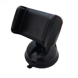 Suporte Para Celular Universal Ventosa Preto-JAVICK
