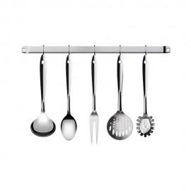 Conjunto Utensílios De Cozinha 6 Peças Inox-EURO HOME