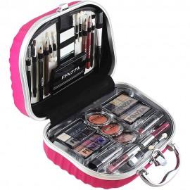 Maleta  De  Maquiagem Profissional HZP723  Pink-FENZZZA