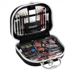 Maleta De Maquiagem Profissional FL6001 Preto-FENZZZA