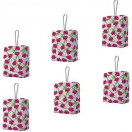 Kit 6 Uni Esponja Para Banho Tulipa- FLASH LIMP