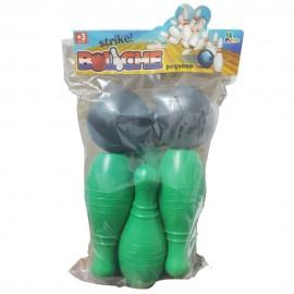 Jogo Mini Boliche Verde- LE PLASTIC