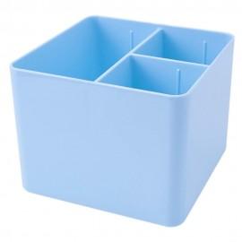 Porta Objetos 3 Divisórias Azul Pastel- DELLO