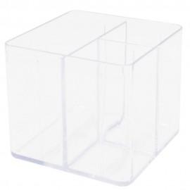 Porta Objetos 3 Divisórias Cristal- DELLO