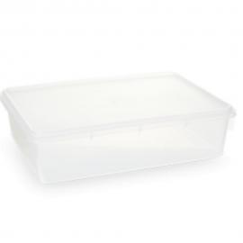 Caixa Retangular Transparente 3,5L- PLASVALE