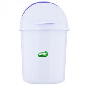 Lixeira Retrátil Branco 1,4L- PLASVALE