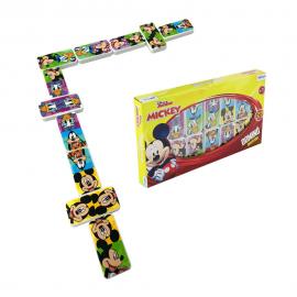 Jogo De Dominó Mickey 28 Peças-ETITOYS