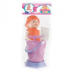 Boneca Bebê Com Kit Praia- APOLO