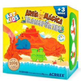 Areia Mágica Transportes- ACRILEX