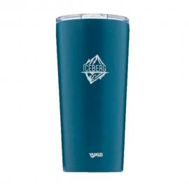 Copo Térmico para Cerveja com Abridor Iceberg 590ML Azul-YANGZI