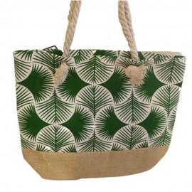 Bolsa de Praia 45x30cm Verde- MULTIART
