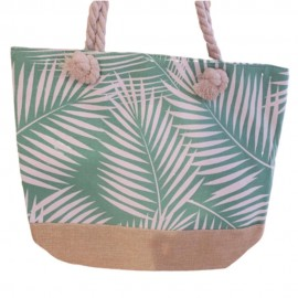 Bolsa de Praia 45x30cm Verde Clara- MULTIART