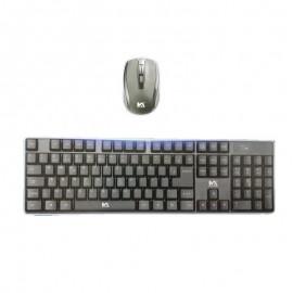 Teclado e Mouse Max-Tech1 Sem Fio- MAXMIDIA