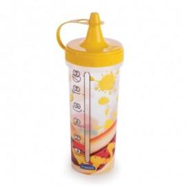 Bisnaga De Plástico Para Mostarda Decorada 250 Ml- Plasútil