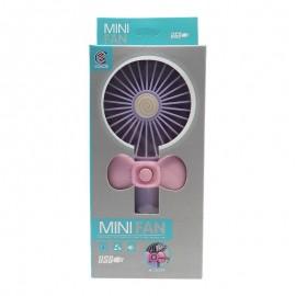 Ventilador USB Portátil Roxo-MINI FAN