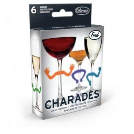 Charades Wine Maker Marcadores Para Taças De Vinho-  ISANOG