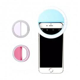 Anel De Luz Para Selfie E Celular Com Clipe Cores- MAX MIDIA