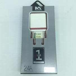 Carregador USB maxcar90 2,4A -Maxmidia