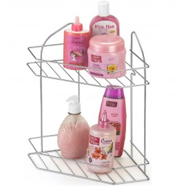 Cantoneira Cromada Dupla para Shampoo - Arthi