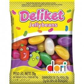 Caixa Com 30 Unidades De Deliket  Jellybenas-DORI
