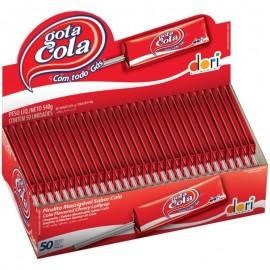 Caixa Com 50 Pirulitos Mastigáveis Gota Cola-DORI