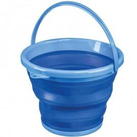 Balde Dobrável 10 L Azul- SANREMO