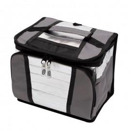 Bolsa Térmica Ice Cooler 7,5L Cinza Chumbo- MOR