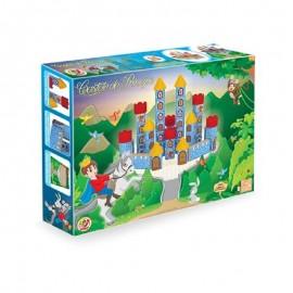Blocos de Montar Madeira Castelo do Príncipe 54 peças- JUNGES