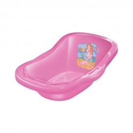 Banheira De Banho Para Boneca Rosa 50Cm- LIDER