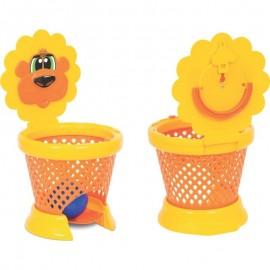 Basket Ball Baby Leãozinho Cesta E 3 Bolinhas- MERCOTOYS