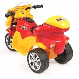 Triciclo Elétrico Infantil Viper Amarelo E Vermelho 6V- HOMEPLAY