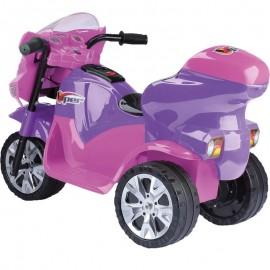 Triciclo Elétrico Infantil Viper Lilás E Pink 6V- HOMEPLAY