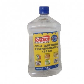 Cola Multiuso Transparente Clear 1kg-RADEX