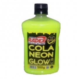 Cola Neon Glow Amarelo-RADEX