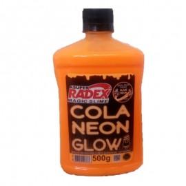 Cola Neon Glow Laranja-RADEX
