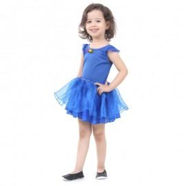 Fantasia Bailarina Azul G 10-12 Anos- SULAMERICANA