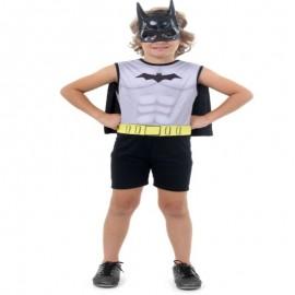 Fantasia Batman Regata G 10-12 Anos- SULAMERICANA
