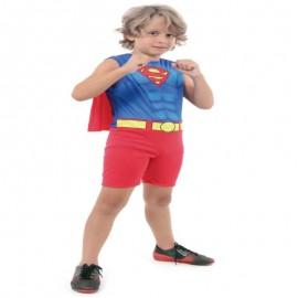 Fantasia Super Homem Regata G 10-12 Anos- SULAMERICANA