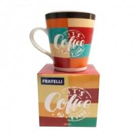 Caneca Cônica Coffee 300Ml- FRATELLI