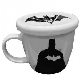 Caneca Com Tampa League Justice Home Collection Batman- DANTAS