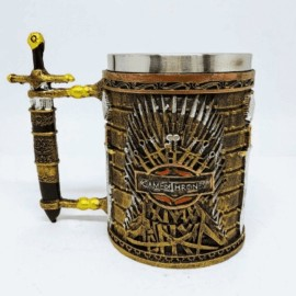 Caneca De Metal Game Of Thrones - MEGAGIFT