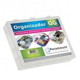 Box Estojo Organizador Multiuso GG 37x27x6 Cm- PARAMOUNT