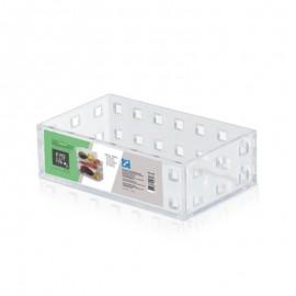 Caixa Modular Empilhável N°1 Em Acrílico Transparente - ARTHI