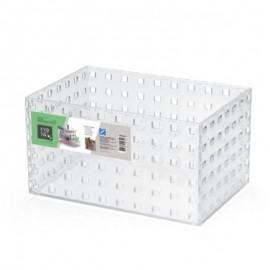 Caixa Modular Empilhável N°3 Em Acrílico Transparente - ARTHI