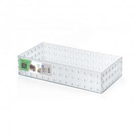 Caixa Modular Empilhável N°4 Em Acrílico Transparente - ARTHI
