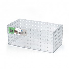 Caixa Modular Empilhável N°5 Em Acrílico Transparente - ARTHI