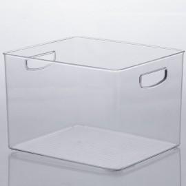 Organizador 25cmX25cmX17cm Diamond Cristal-PARAMOUNT