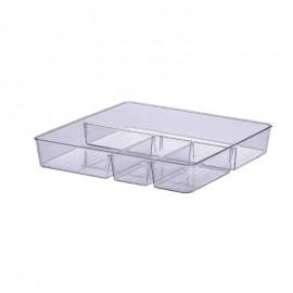 Organizador 31cmX31cmX5cm Diamond Cristal-PARAMOUNT